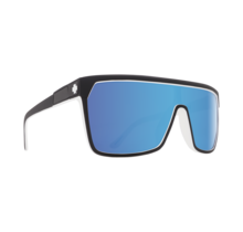 Spy Flynn Whitewall Sunglasses w/ Happy Gray Green with Light Blue Spectra Lenses