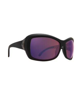 Spy Farrah Matte Black Sunglasses w/ Happy Rose Polar with Midnight Spectra Lenses
