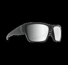 Spy Dirty Mo 2 Matte Black Logo Fade Sunglasses w/ Gray Green Silver Spectra Lenses