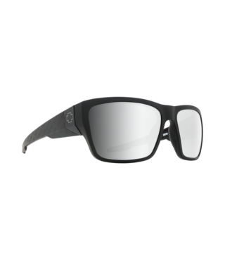 Spy Dirty Mo 2 Matte Black Logo Fade Sunglasses w/ Gray Green Silver Spectra Lenses