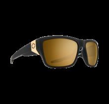 Spy Dirty Mo 2 Matte Black Gold Sunglasses w/ Bronze Gold Spectra Lenses