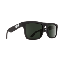 Spy Atlas Soft Matte Black Sunglasses w/ Happy Gray Green Lenses