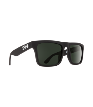 Spy Atlas Soft Matte Black Sunglasses w/ Happy Gray Green Lenses