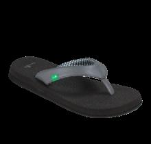 Sanuk Women's Yoga Mat Sandals - Charcoal