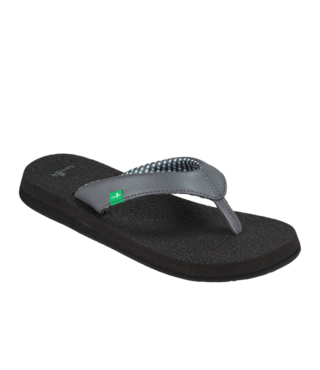 Sanuk Women's Yoga Mat Sandals - Charcoal