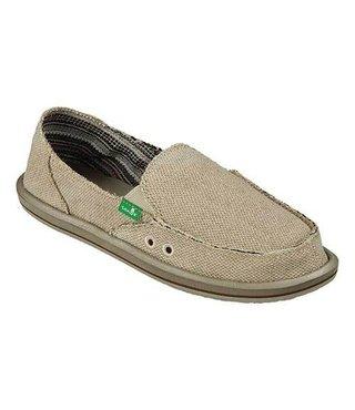 Sanuk Women's Donna Hemp Slip On Shoes - Natural