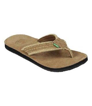 Sanuk Men's Fraid Not Sandals - Khaki