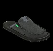 Sanuk Men's You Got My Back II Slip On Shoes - Charcoal
