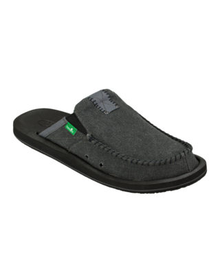 Sanuk Men's You Got My Back II Slip On Shoes - Charcoal