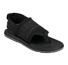 Sanuk Women's Yoga Sling 3 Knit Sandals - Black