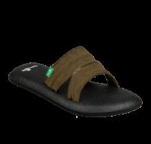Sanuk Women's Yoga Mat Capri Sandals - Dark Olive