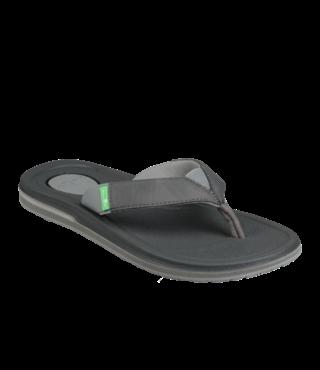 Sanuk Women's Yoga Mat 3 Sandals - Charcoal