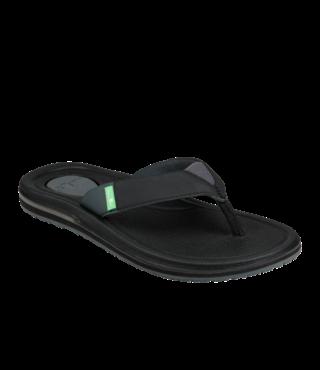 Sanuk Women's Yoga Mat 3 Sandals - Black