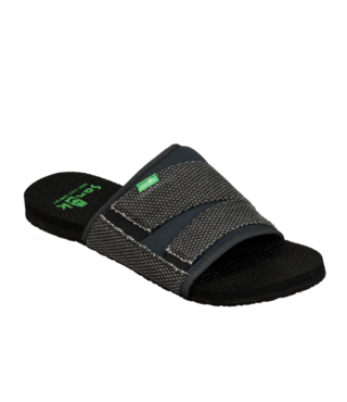Sanuk Men's Beer Cozy 2 Slide Sandals - Black