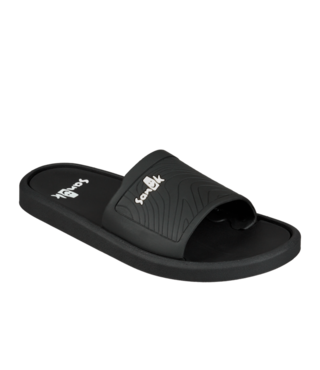 Sanuk Men's Beachwalker Slide Sandals - Black