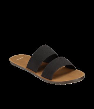 Sanuk Women's Yoga Gora Gora Sandals - Black