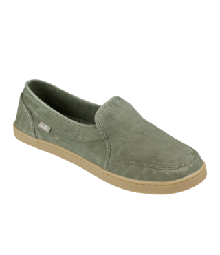 Sanuk Women's Pair O Dice Slip On Shoes - Olive