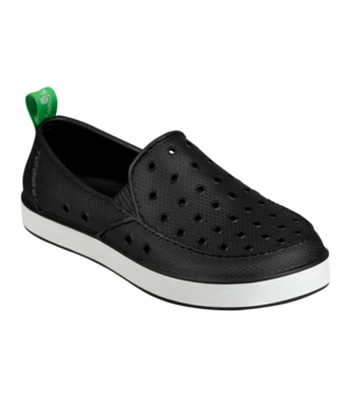 Sanuk Kid's Lil Walker Shoes - Black/White