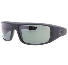 Spy Logan Soft Matte Black Sunglasses w/ Gray Green Lenses