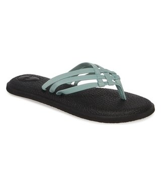 Sanuk Women's Yoga Salty Sandals - Mineral Blue