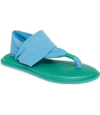 Sanuk Kid's Lil Yoga Sling 2 Sandals - Alaska Blue