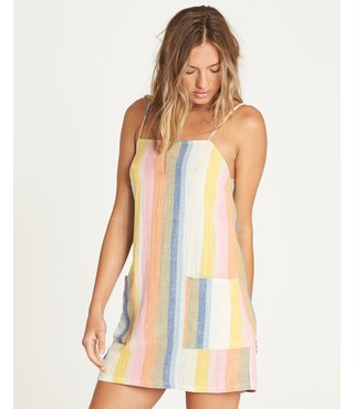 Billabong Straight Round Mini Dress - Multi