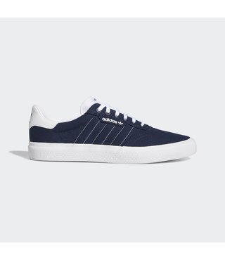 Adidas 3MC Skate Shoes - Navy/White