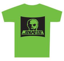 Skull Skates Burbs Logo T-Shirt - Tofino Green