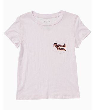 Billabong Girls' Mermaid Power Tee - Petal