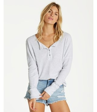 Billabong Any Day Top - Light Grey