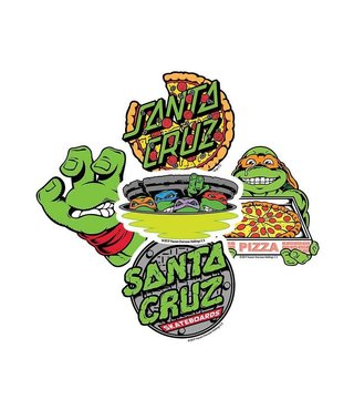 Santa Cruz x Teenage Mutant Ninja Turtles Assorted 10 Sticker Pack