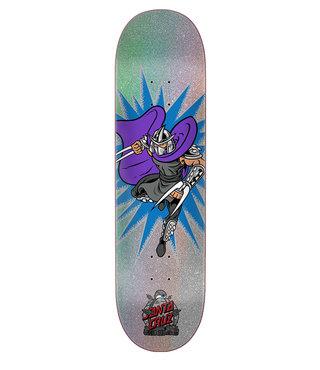 8.0in x 31.6in TMNT Shredder Santa Cruz Skateboard Deck