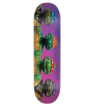 8.5in x 32.2in TMNT Figures Everslick Santa Cruz Skateboard Deck