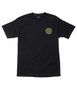 TMNT Ninja Turtles Regular S/S Santa Cruz Mens T-Shirt - Black