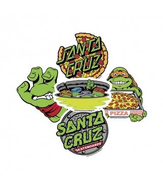 Santa Cruz x Teenage Mutant Ninja Turtles Stickers