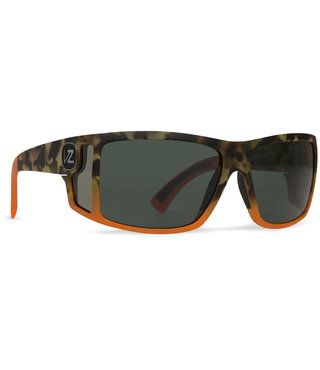Von Zipper Checko Sunglasses Camo Orange Vintage Grey