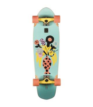 "Globe Big Blazer Palm Fish 32"" Cruiser Complete Skateboard"