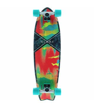 """Globe Chromantic Melted Melon 33"""" Cruiser Complete Skateboard"""
