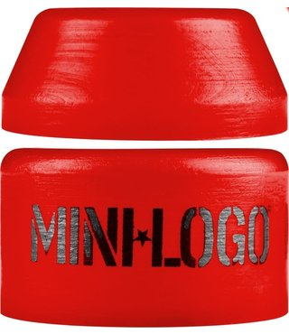 Mini Logo Hard Bushing Red