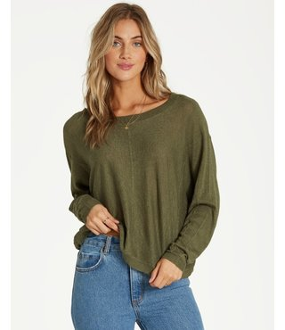 Billabong No Regrets Sweater - Sage