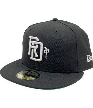 RDS New Era Hat Monogram - Black/White