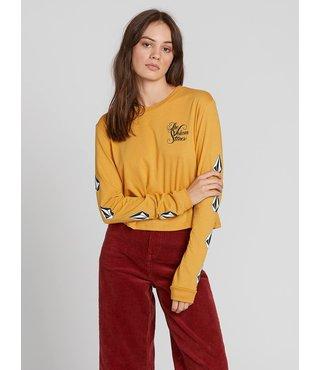 The Volcom Stones Long Sleeve Shirt - Dijon