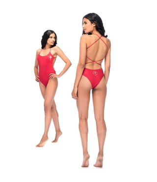 RDS Women's Swimsuit Ladysmith - Red