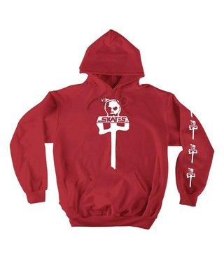 RDS x Skull Skates Hoodie - Red/White