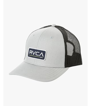 RVCA Ticket Trucker II Hat - Light Grey