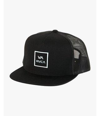 RVCA VA All The Way Trucker Hat III - Black