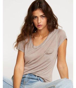 RVCA Vinyl Jersey Knit T-Shirt - Fog