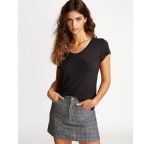 RVCA Vinyl Jersey Knit T-Shirt - Black