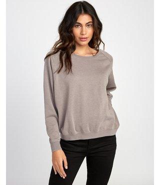 RVCA Everyday Label Sweatshirt - Fog
