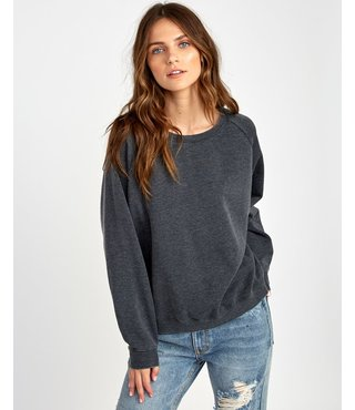 RVCA Everyday Label Sweatshirt - Black